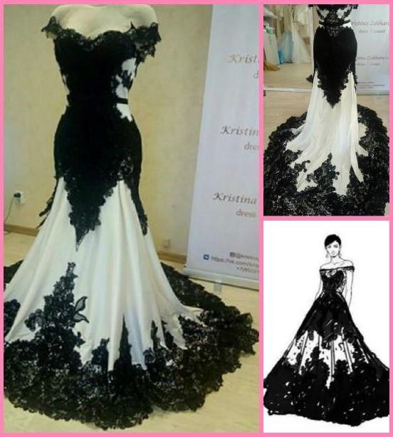 Robe De Mariee Noire Et Blanc 57 Remise Www Boretec Com Tr